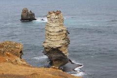 12 апостола, Виктория, Австралия Стоковая Фотография