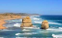 2 апостола на большой дороге океана Стоковое Изображение