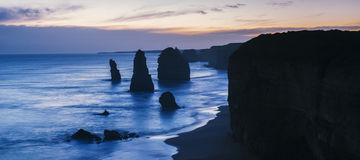12 апостола на большой дороге океана Стоковые Изображения RF