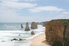 12 апостолов Австралия Стоковые Изображения RF