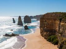 12 апостолов Австралия Стоковые Фотографии RF