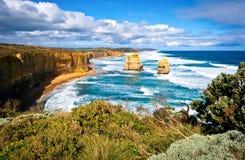 12 апостолов, Австралия 3 Стоковое фото RF