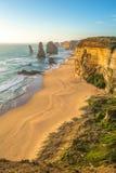 12 апостолов, большая дорога океана, Австралия Стоковые Изображения