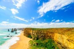 12 апостолов, большая дорога океана, Виктория, Австралия Стоковое Изображение RF