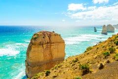 12 апостолов, большая дорога океана, Виктория, Австралия Стоковые Фото