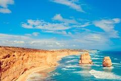 12 апостолов, большая дорога океана, Виктория, Австралия Стоковое Фото