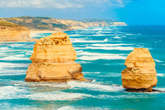 12 апостолов, большая дорога океана, Виктория, Австралия Стоковое Изображение