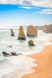 12 апостолов, большая дорога океана, Виктория, Австралия Стоковая Фотография