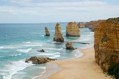 12 апостолов - большая дорога океана Стоковое Изображение RF