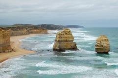 12 апостолов - большая дорога океана Стоковые Фотографии RF