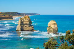 12 апостолов 2 - большая дорога океана Стоковые Изображения