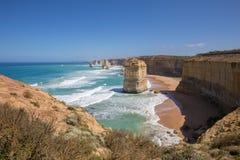 12 апостолов, большая дорога океана Стоковые Фотографии RF