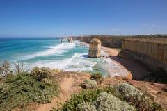 12 апостолов, большая дорога океана Стоковые Изображения RF