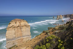 12 апостолов, большая дорога океана Стоковая Фотография RF
