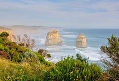 12 апостолов - большая дорога океана Стоковое Фото