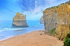 12 апостолов большой дорогой океана, Австралией Стоковая Фотография