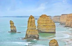12 апостолов большой дорогой океана, Австралией Стоковое фото RF
