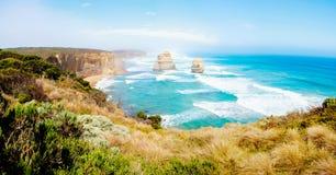 12 апостолов большой дорогой океана в Виктории, Австралии Стоковое Фото