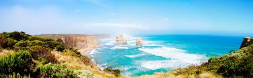 12 апостолов большой дорогой океана в Виктории, Австралии Стоковые Фотографии RF