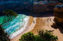 12 апостолов большой дорогой океана в Виктории, Австралии Стоковые Фото