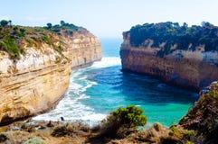 12 апостолов большой дорогой океана в Виктории, Австралии Стоковые Изображения