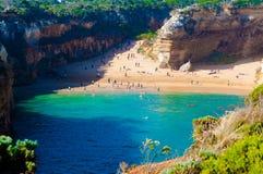 12 апостолов большой дорогой океана в Виктории, Австралии Стоковое Изображение