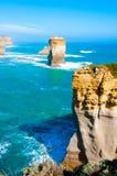12 апостолов большой дорогой океана в Виктории, Австралии Стоковое фото RF