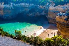12 апостолов большой дорогой океана в Виктории, Австралии Стоковая Фотография RF