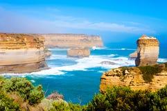 12 апостолов большой дорогой океана в Виктории, Австралии Стоковая Фотография