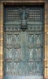 12 апостолов, дверь церков Святого Винсента de Пола, Парижа Стоковое фото RF