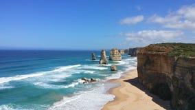 12 апостолов, Виктория, Австралия Стоковые Фотографии RF