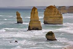 12 апостолов, Виктория, Австралия Стоковое фото RF