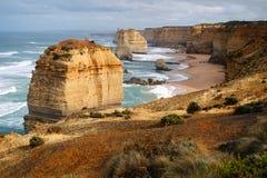12 апостолов, Виктория, Австралия Стоковое Изображение RF