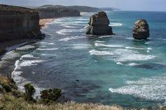 12 апостолов, Виктория, Австралия Стоковые Фото