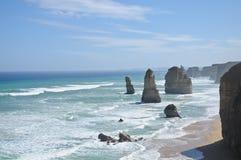 12 апостолов в Виктории Австралии Стоковое фото RF