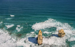 12 апостолов в национальном парке campbell, Австралии Стоковая Фотография RF