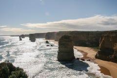 12 апостолов в национальном парке campbell, Австралии Стоковые Изображения RF