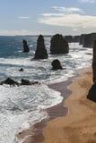 12 апостолов в национальном парке campbell, Австралии Стоковое фото RF