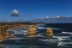 12 апостолов в национальном парке campbell, Австралии Стоковое Фото