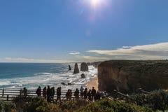 12 апостолов в национальном парке campbell, Австралии Стоковые Фото