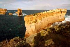 12 апостолов вдоль известной большой дороги океана Стоковая Фотография