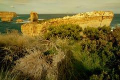 12 апостолов вдоль известной большой дороги океана Стоковые Изображения RF