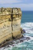 12 апостолов, известный ориентир ориентир вдоль большой дороги океана, Vic Стоковые Фотографии RF