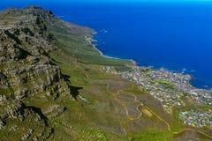 12 апостолов, Кейптаун Стоковое фото RF
