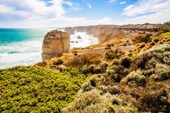 12 апостолов, Мельбурн, Австралия Стоковая Фотография RF