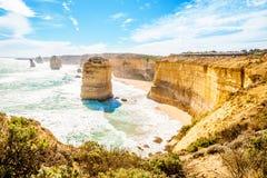 12 апостолов, Мельбурн, Австралия Стоковая Фотография