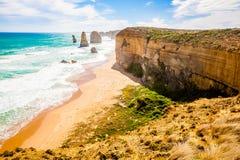 12 апостолов, Мельбурн, Австралия Стоковые Фотографии RF