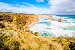 12 апостолов, Мельбурн, Австралия Стоковые Изображения