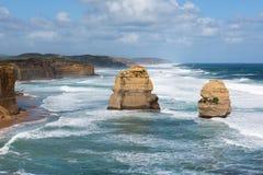 12 апостолов, национальный парк Campbell порта, Виктория, Австралия Стоковое Изображение RF