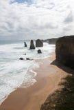 12 апостолов, национальный парк Campbell порта, Виктория, Австралия Стоковое фото RF